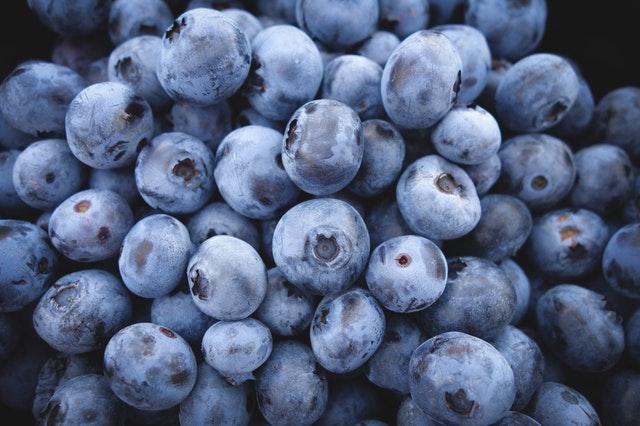 ผลไม้ลดน้ำหนัก blueberry