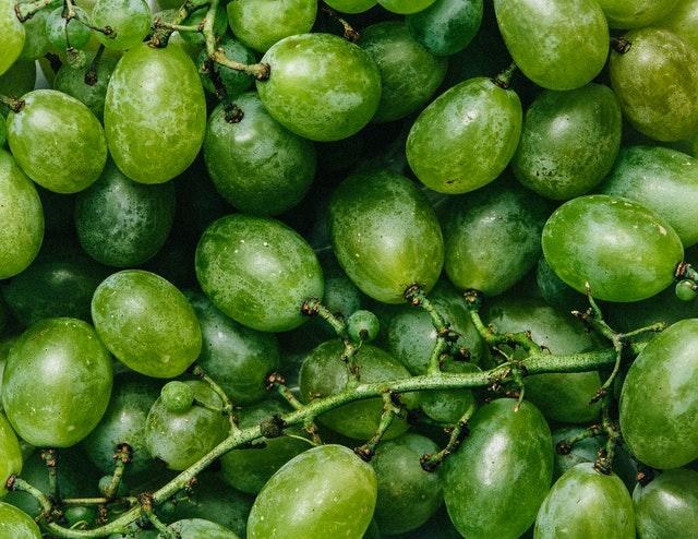 ผลไม้ลดความอ้วน grapes