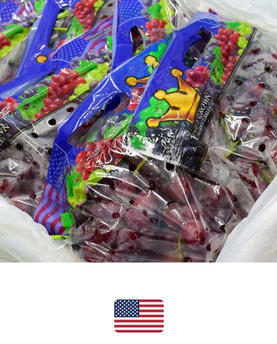 ผลไม้-องุ่นแดงอเมริกา