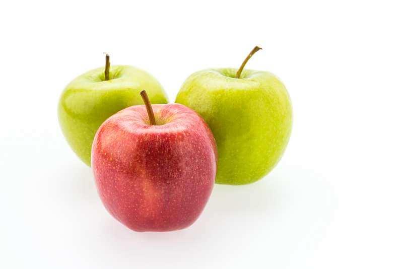 แอปเปิล - ผลไม้หน้าใส